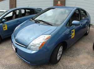 Toyota Prius hybrid vehicle