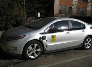 Volt plug-in hybrid vehicle
