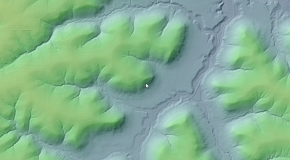 Example of Contour map