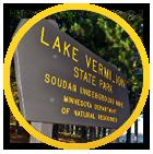 Vermilion State Park Sign