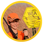 hunter by WIA sign