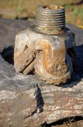 photo: Drill bit