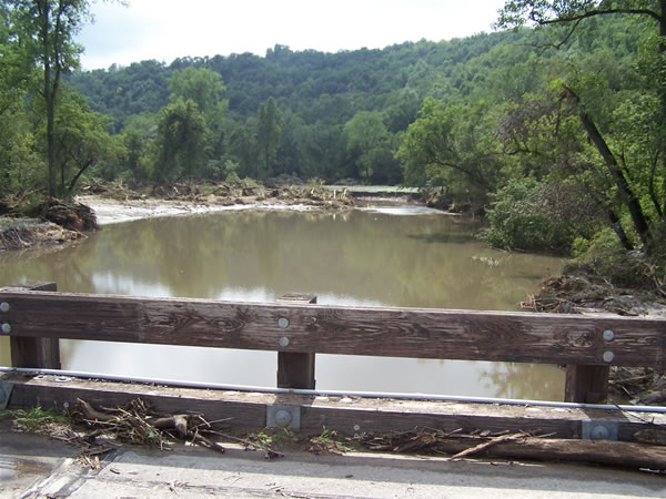 Rush Creek - Cty Rd 25 Bridge