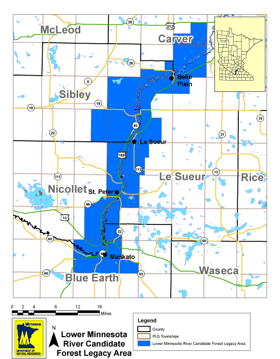 Lower Minnesota Forest Legacy Area