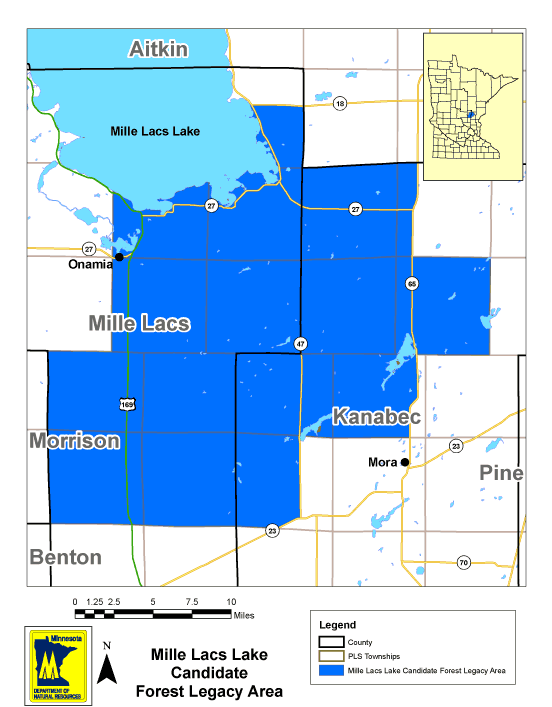 Mille Lacs Lake Forest Legacy Area