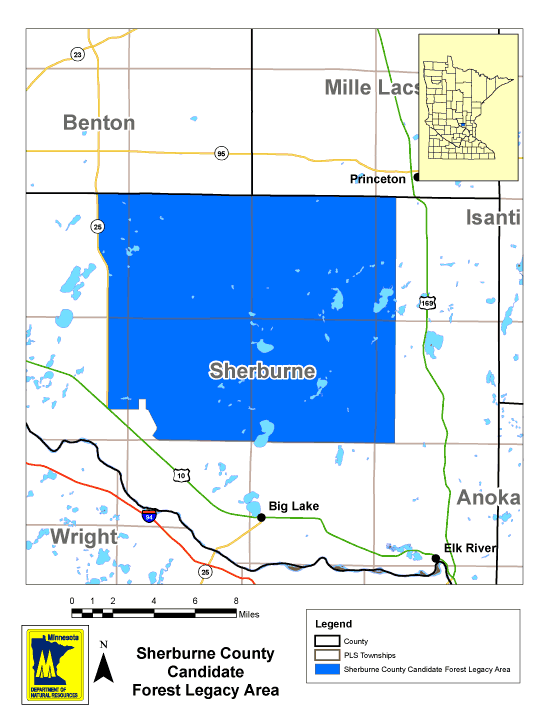 Sherburne County Forest Legacy Area