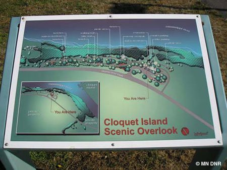 Cloquet Island Scenic Overlook project board