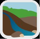 Geomorphology icon
