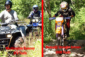 Nemadji State Forest: Washington/Ramsey ATV Club