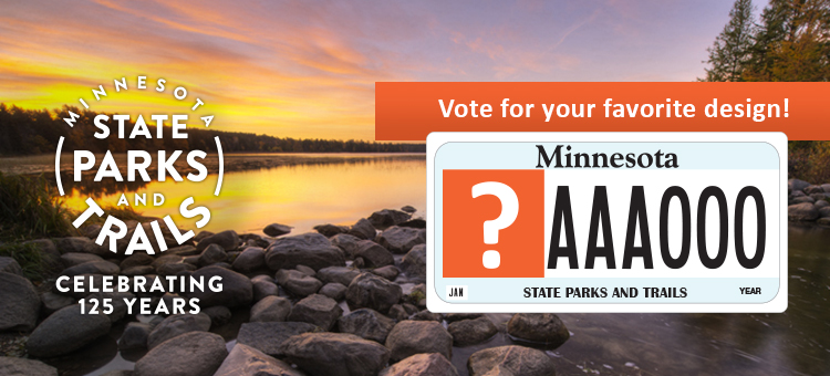 Minnesota State Parks celebrating 125 years.