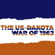 Logo of the Minnesota History Center's US-Dakota War of 1862 exhibit