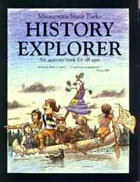 History Explorer activity booklet for kids.