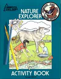 Nature Explorer activity booklet for kids.