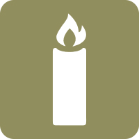 candlelight path icon