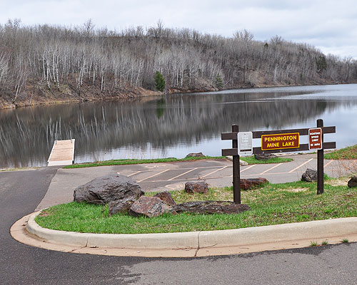 Pennington Mine Lake water access