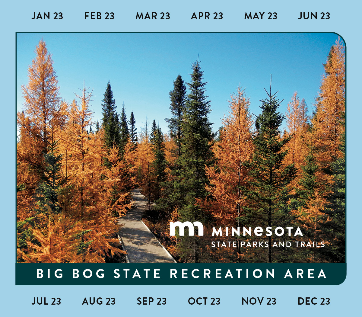 Image of the 2016 Minnesota State Park Annual Permit