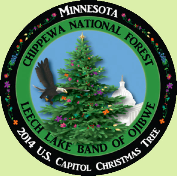 Logo of the 2014 Capitol Christmas Tree