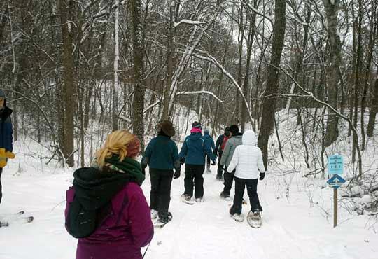 Wild River Snowshoeing