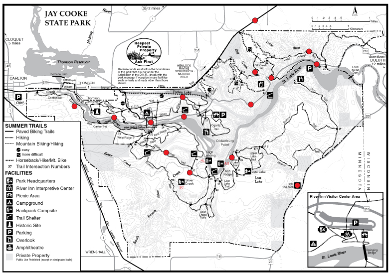 jay cooke flood map
