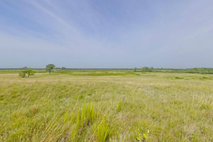 Photo of a view of the wide open prairie located within the park.