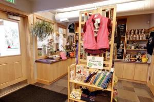 Photo of the gift store located inside the park office.