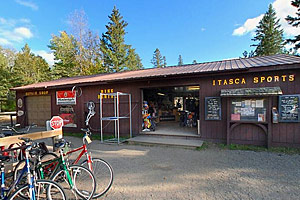 Photo of Itasca Sports' concession booth.