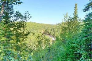 Photo overlooking the Brule River Valley.