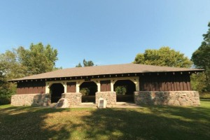 Photo of the Map Shelter building.