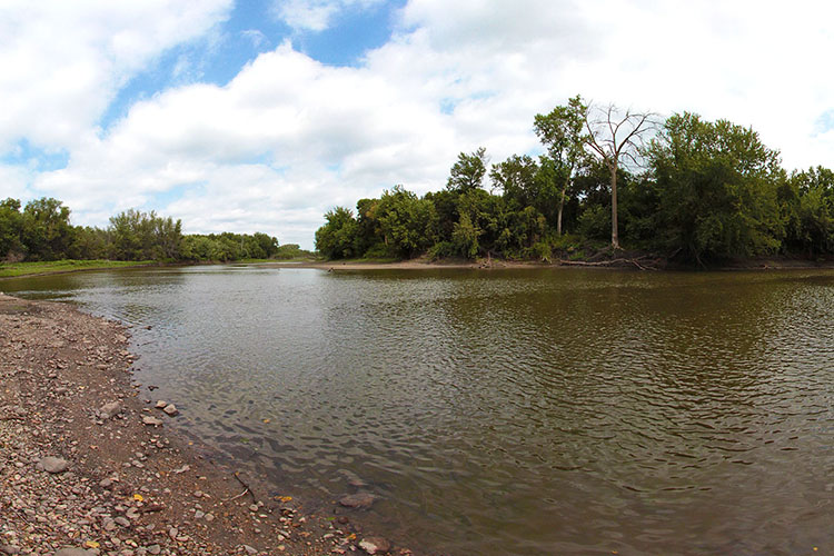 Photo of Redwood Ferry, which was one of two ferry crossings on the upper Minnesota River.