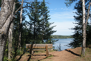 Photos taken on the Cuyuna Lakes State Trail