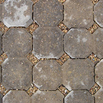 Permeable pavement sample called