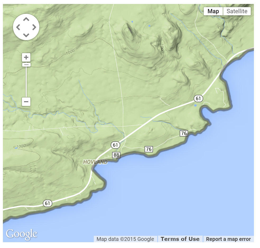 Horseshoe Bay Protected Access location map