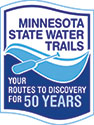 State Water Trails Anniversary Logo