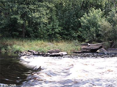 Class II rapids.
