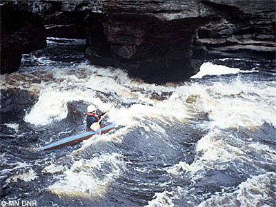 Class IV rapids.