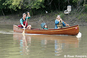 Red River canoers.