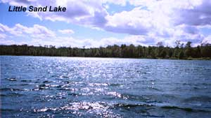 Little Sand Lake, Itasca County.