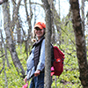 Regional plant ecologist, Kit Elstad-Haveles posing for a picture.