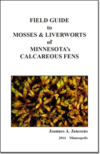 Cover of the Field Guide to Mosses and Liverworts of Minnesota's Calcareous Fens