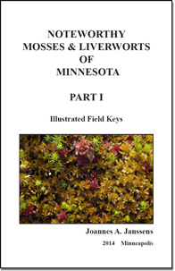 Cover of the Noteworthy Mosses and Liverworts of Minnesota Part I PDF