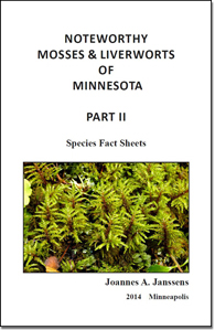 Cover of the Noteworthy Mosses and Liverworts of Minnesota Part II PDF