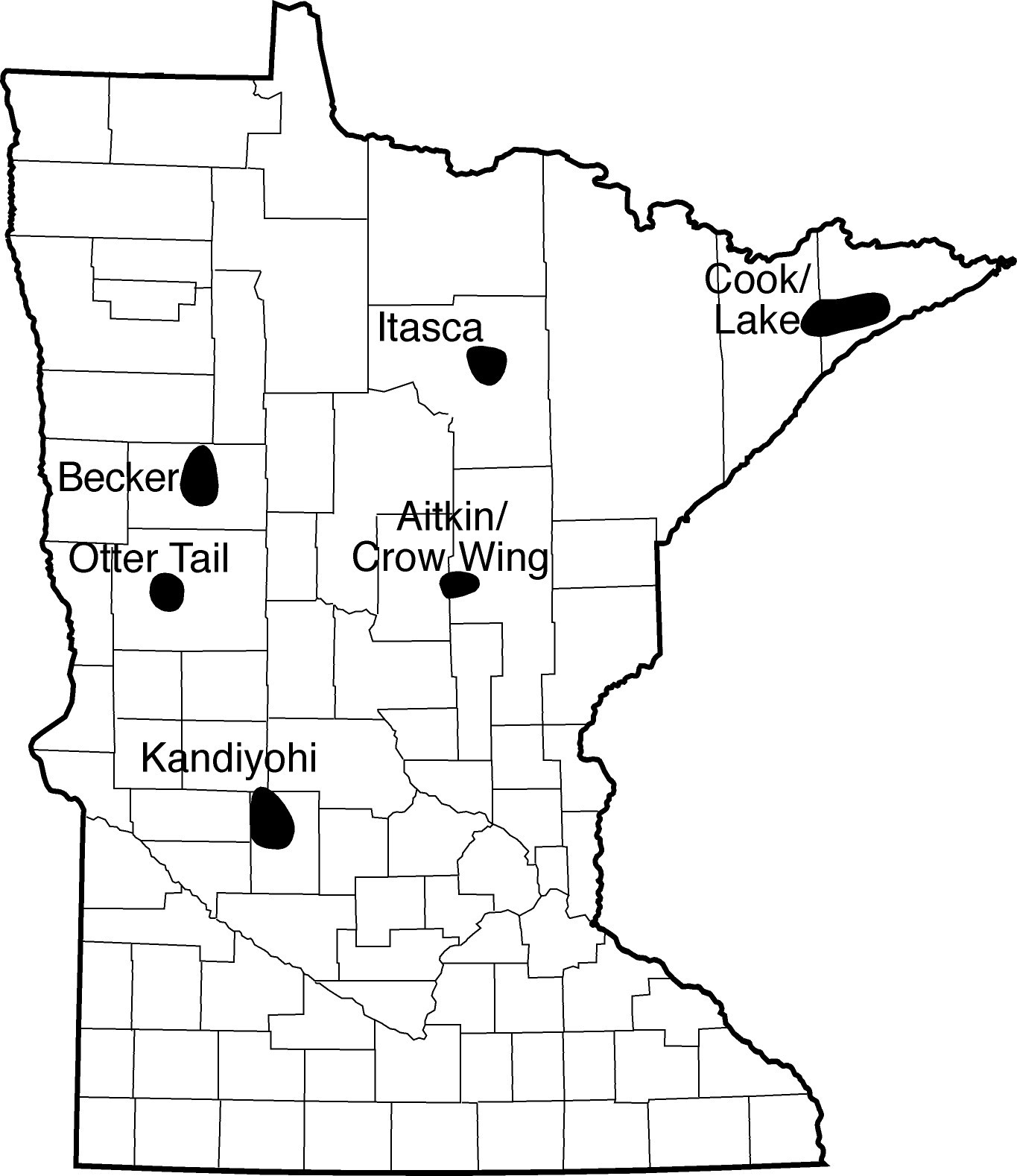 Minnesota Loon Monitoring Map