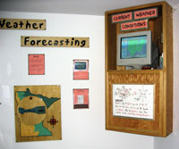photo: weather station in a classroom