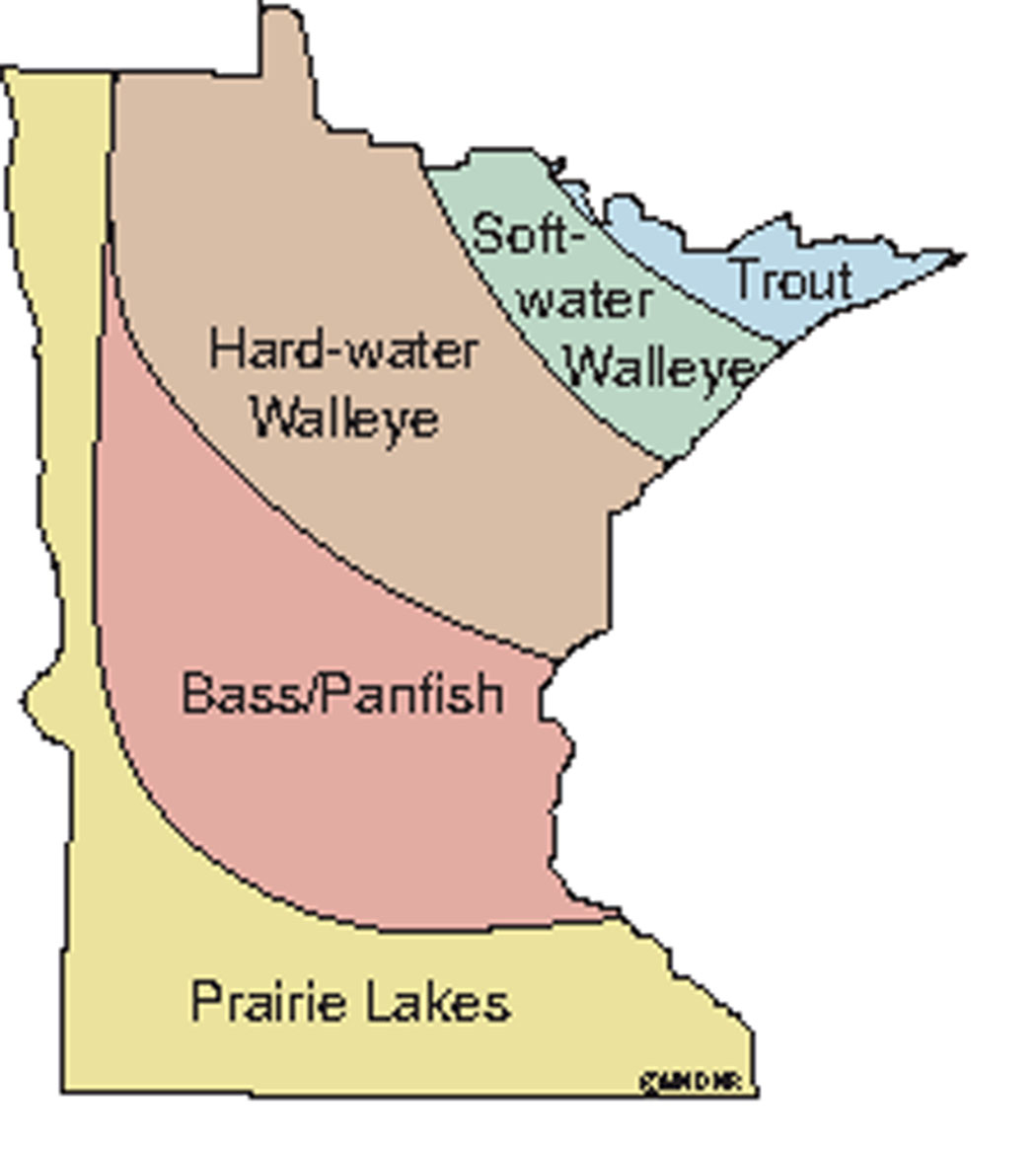 Minnesota Fish Habitat Zones