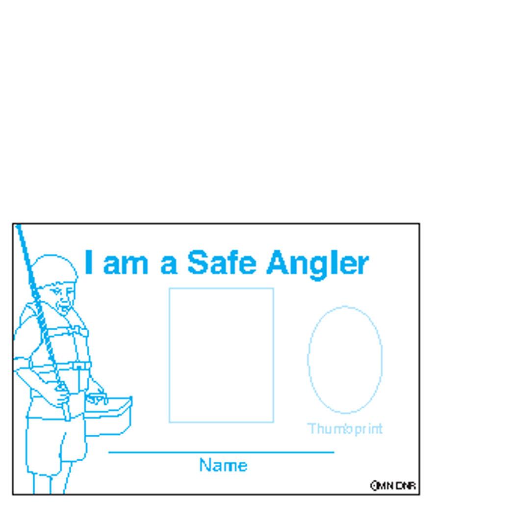 Safe angler certificate