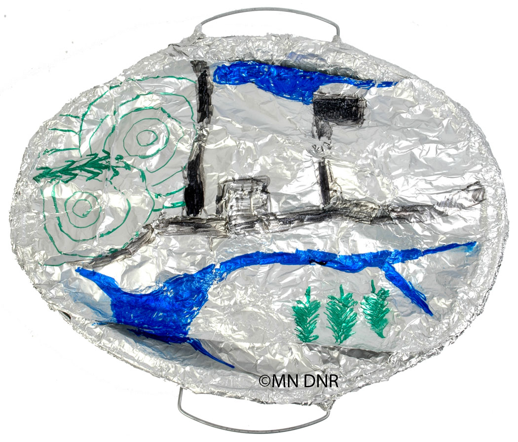 Student Watershed Model from Lesson 3:4 - Wonderful Watersheds