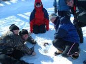 teachers in snow