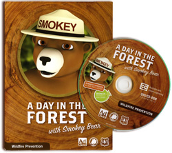 graphic: Cover of DVD with Smokey Bear