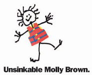 Unsinkable Molly Brown wears her lifejacket