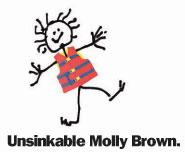 Unsinkable Molly Brown wears her lifejacket
